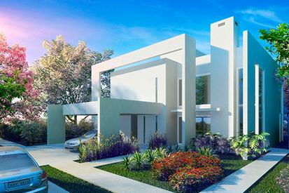 Casa B - Veduta Blu